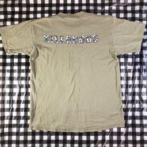 VTG Billabong Surf Distressed T shirt L Beige